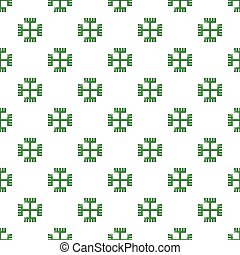 Pagan ancient symbol pattern seamless