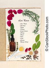 Pagan Love Potion - Pagan love potion ingredients over...