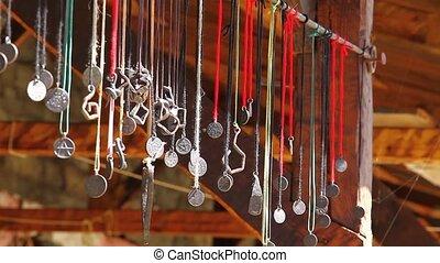 Pagan necklaces  amulets