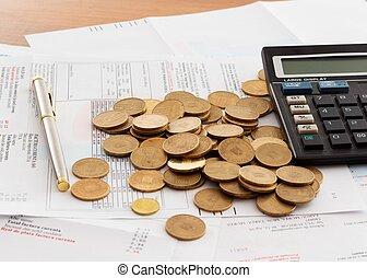 pagando contas