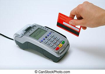 pagar, cartão crédito