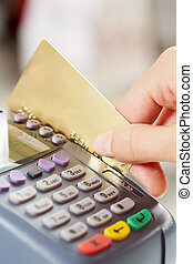 pagar, por, tarjeta