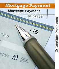 pagar, residência, primário, hipoteca