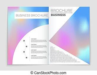 page, art, résumé, liste, vide, conception, style, disposition, bannière, mockup, aviateur, set., thème, gabarit, feuille, signe, livre, livret, couverture, a4, fond, brochure, impression, carte, idée, vecteur, annonce