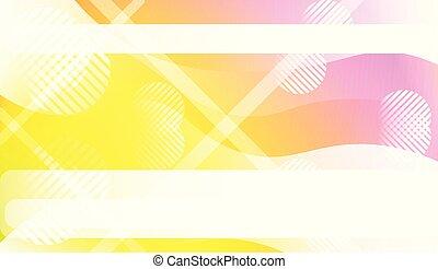 page., bannière, gradient., couleur, modèle, wave., couverture, illustration, ton, lignes, vecteur, conception, annonce, géométrique