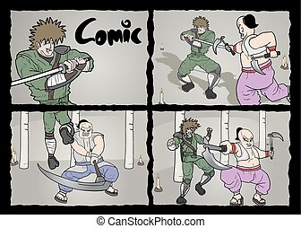 Page comic - Creative design of page comic