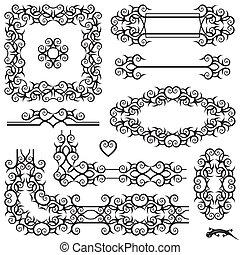 page, décoration
