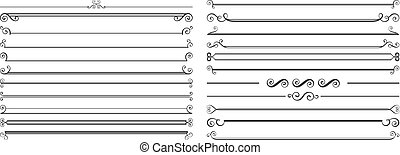 Page dividers set