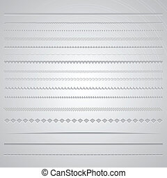Page dividers