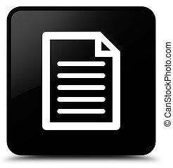 Page icon black square button