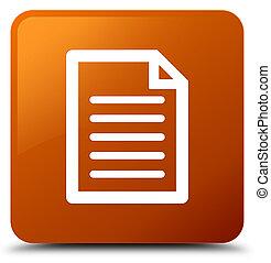 Page icon brown square button