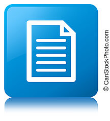 Page icon cyan blue square button