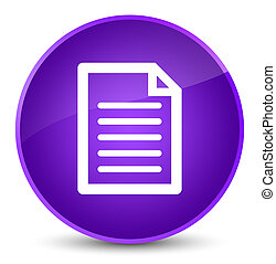 Page icon elegant purple round button