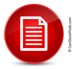Page icon elegant red round button