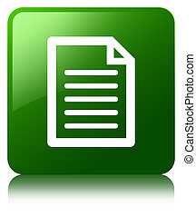 Page icon green square button
