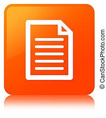 Page icon orange square button