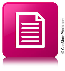 Page icon pink square button