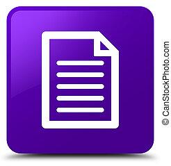Page icon purple square button