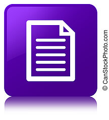 Page icon purple square button