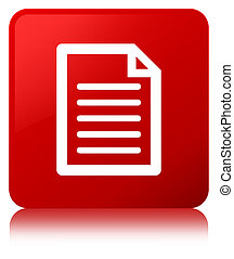 Page icon red square button
