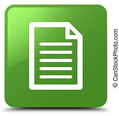 Page icon soft green square button