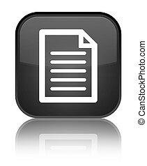Page icon special black square button