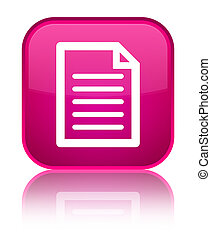 Page icon special pink square button