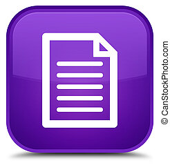 Page icon special purple square button