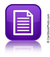 Page icon special purple square button