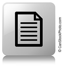 Page icon white square button