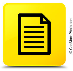 Page icon yellow square button