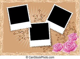 Page layout photo album