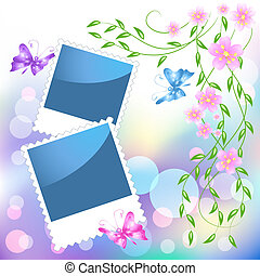 Page layout photo frame