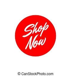 page, lettrage, icône, site web, bouton, magasin, vecteur, texte, maintenant, bannière, élément, conception, site, gabarit, symbole, business
