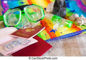 passport with egypt visa