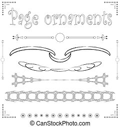 page ornaments