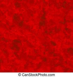 page., vecchio, grunge., grano, rosso, art.