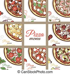 Pages Of Menu Pizza