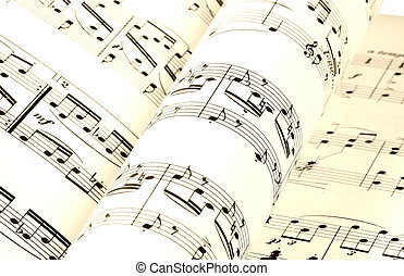 Sheet Music - Pages of Sheet Music