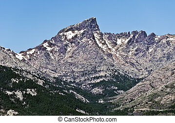 Paglia Orba Peak and Golo Valley - Paglia Orba Peak and high...