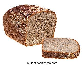 pagnotta affettata, grano, gobba, bread