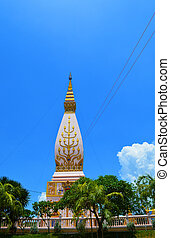 pagoda colorful symbol of buddhism