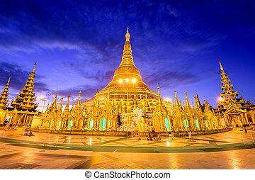 pagoda de shwedagon