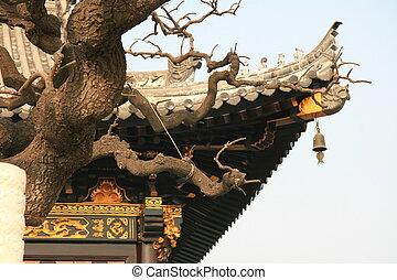 pagoda, dettaglio
