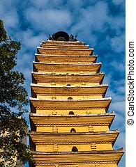 pagoda, kunming, oriental