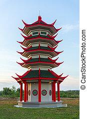 pagoda, mini
