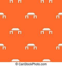 Pagoda pattern seamless