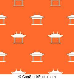 Pagoda pattern seamless - Pagoda pattern repeat seamless in...