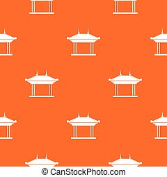 Pagoda pattern seamless - Pagoda pattern repeat seamless in...