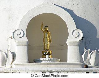 pagoda, paz